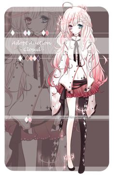 Adopt auction [CLOSED] by silverblossoms.deviantart.com on @DeviantArt