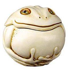 Harmony Kingdom DIVINE Roly Poly Frog