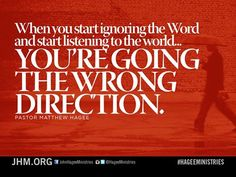 Is it more important to you to be politically correct...or to be tuned into the Word of God?