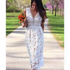 Romeo & Juliet Couture Lace Dress SO stunning and perfect for spring + summer! Super nice quality with all over lace detail and cutout trim. Perfect condition brand new with tags! No trades!! 031416350tmr Romeo & Juliet Couture Dresses Midi