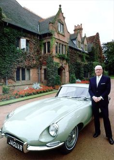 """Sir William Lyons. The founder of Jaguar; """"The car is the closest thing we will…"""