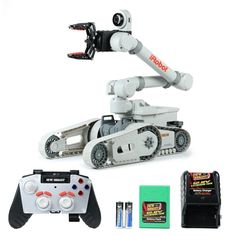 iRobot Kobra 710 * Brand New Bright Multi-Function Remote Control R/C robot toy Mobile Robot, Robot Arm, Robot Design, Mechanical Design, Best Deals Online, Kids Store, Electrical Engineering, Learning Games, Radio Control