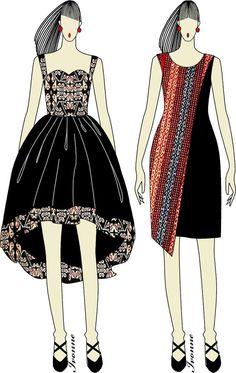 Ikat Weaving dress  Ikat  Batik Indonesia  Pinterest  Kebaya