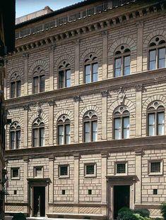 Smarthistory, Leon Battista Alberti, Palazzo Rucellai. Florence, c. 1446-51