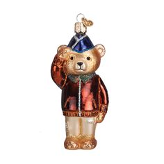 The Jolly Christmas Shop - Old World Christmas Air Force Bear Glass Ornament 12401, $14.99 (http://www.thejollychristmasshop.com/old-world-christmas-air-force-bear-glass-ornament-12401/)