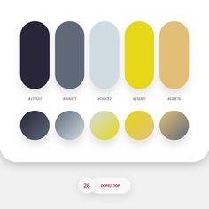 Color psychology meaning of Flat Color Palette, Colour Pallete, Colour Schemes, Color Palettes, Ui Color, Graphisches Design, Color Plan, Color Psychology, Psychology Meaning