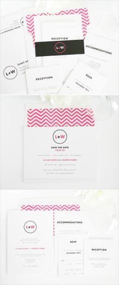 Circle logo wedding invitations. #modern #logo #savethedate #invitation #stationery #wedding Shop: Shine Wedding Invitations http://www.shineweddinginvitations.com/wedding-invitations/circle-logo-wedding-invitations