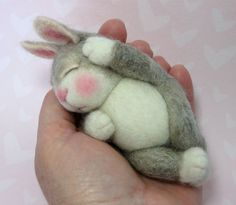 PDF CLASS Needle Felted Wool Animal Bunny Class By Barby Anderson (Kits available and sold separately). $45.00, via Etsy.