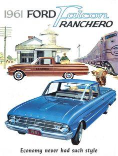 1961 Ford Ranchero Foldout