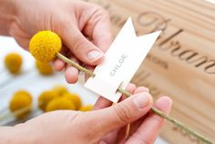 DIY Mossy Escort Card Box | Elizabeth Anne Designs: The Wedding Blog