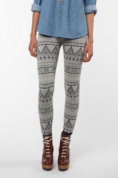Levi's Jacquard Legging - perfect for fall!