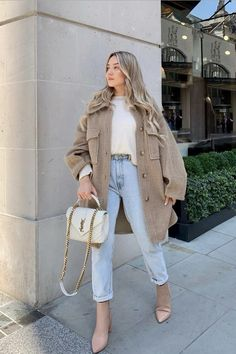 Classy Winter Outfits, Fall Fashion Outfits, Casual Fall Outfits, Trendy Outfits, Autumn Fashion, Cute Outfits, Fall Dress Outfits, How To Look Classy, Classy Looks