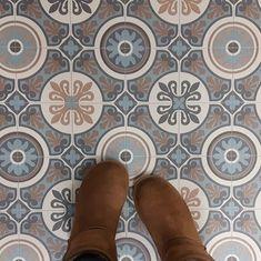 Shop Moroccan Tile Design Cushion Vinyl Flooring Sheet Lino Kitchen Bathroom Floor - Tangier 05 - Multiple Sizes Available (Sample). Tile Effect Vinyl Flooring, Cushioned Vinyl Flooring, Vinyl Flooring Bathroom, Vinyl Sheet Flooring, Bathroom Vinyl, Hallway Flooring, Kitchen Vinyl, Porch Flooring, Linoleum Flooring