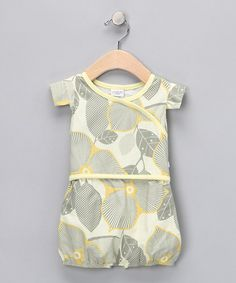 Optic Blossom Selina Layered Romper by rockme! on #zulily