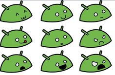 Android faces =)
