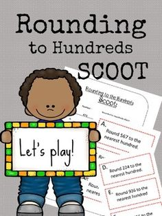 Get your students moving around the room while they practice rounding to the hundreds! Great for guided math, cooperative learning, whole class or small group! Fun Math Activities, Teaching Resources, Fourth Grade Math, Teaching Math, Maths, Cooperative Learning, Math Workshop, Guided Math, Teacher Favorite Things