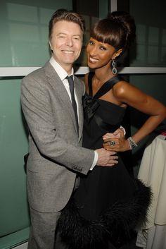 David Bowie and Iman's Cutest Pictures   POPSUGAR Celebrity