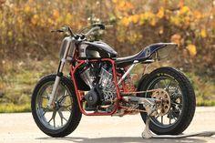 Harley-Davidson Street 750 Flat Tracker by Asteris9 #motorcycles #streettracker #motos   caferacerpasion.com