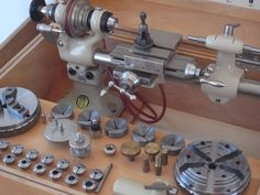 Bergeon Bergeon 1766 Model A Lathe