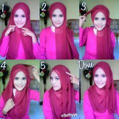 This is a very easy and simple hijab tutorial for everyday wear, it looks a lot like the pin back hijab tutorial with the flowing side touch, but this is a new way of creating that beautiful touch, with no…