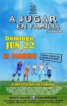 A Jugar en Familia @ El Morro, Viejo San Juan #sondeaquipr #paralosninos #elmorro #viejosanjuan #sanjuan #festivalespr #ajugarenfamilia
