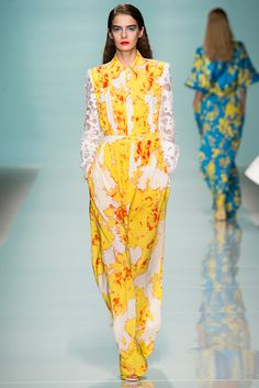 Emanuel Ungaro Spring 2015 Ready-to-Wear - Collection - Gallery - Style.com