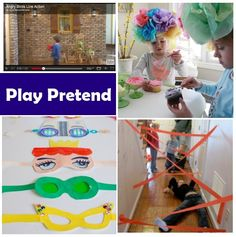lots of ideas for kids activities. pretend play, arts and crafts, fun learning, etc someday-kids-stuff