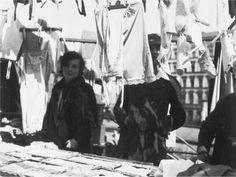 """Franz Hessels """"Der Landwehrkanal"""": 45 Jahre Markt am Maybachufer, Aufnahme 1932"""