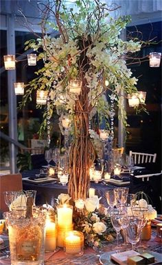 This place is in Granger and they rent the centerpieces! Will have to check them out!