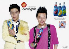 T.O.P and G-Dragon Sunny 10