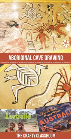 Homeschool Crafts and Educational Crafts for Kids! Make these Aboriginal cave drawings with children as you learn all about Australia! Lots of free australia crafts and activities for children. Aboriginal Art For Kids, Aboriginal Education, Indigenous Education, Aboriginal Culture, Indigenous Art, Australia Kids Crafts, Naidoc Week Activities, Australia School, Perth