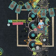 Bass Thumpin'- Kit: Turn It Up from Wendy Tunison Designs, Temptations Remix Vol. 3 from Wendy Tunison Designs