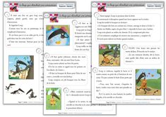 Un site utilisant WordPress Link And Learn, Learn To Read, French Teacher, Teaching French, Reading Resources, Reading Activities, French Worksheets, French Education, Cycle 2