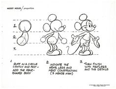 How to Draw Disney's Most Famous Cartoon Character — Mickey Mouse ...