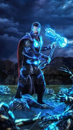 Thor Stormbreaker Avengers Endgame iPhone Wallpaper Free – GetintoPik