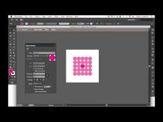 New Pattern Tool in Illustrator CS6: video tutorial by Alma Loveland
