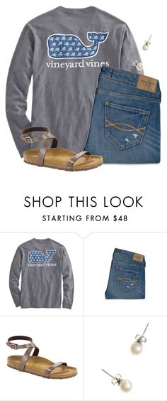 """""""6 days until Christmas """" by flroasburn on Polyvore featuring Abercrombie & Fitch, Birkenstock and J.Crew"""