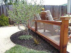 backyard fence ideas | ... backyard-fence-ideas-wood-wire-backyard-fence-ideas-montclair