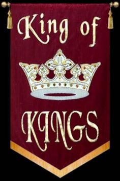 We are warriors for Jesus, King of Kings! That is God Almighty!