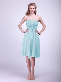 Twisted Chiffon Bridesmaid Dress | Plus and Petite sizes available! Hundreds of styles, tons of colors!