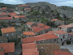 sortelha aldeia granitica vista inteira