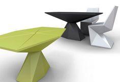 VONDOM Vertex table by Karim Rashid