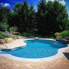 900 Stunning Pools With Waterfalls Ideas Backyard Pool Pool Designs Pool Waterfall