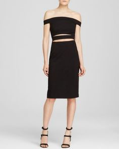 N Nicholas Dress - Off The Shoulder | Bloomingdale's
