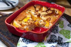 The Slow Roasted Italian - Printable Recipes: Simple Peach Cobbler Dump Cake