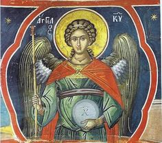 Orthodox icons of the Angles and their Synaxis, commonly portrayed in Orthodox Churches. Archangel Raphael, Archangel Gabriel, Religious Icons, Religious Art, Order Of Angels, Byzantine Icons, Principles Of Art, Albrecht Durer, Guardian Angels