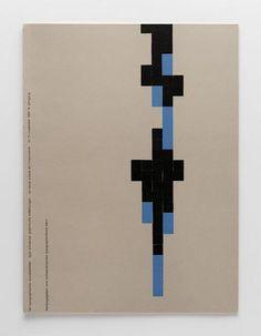 TM Typographische Monatsblätter, issue 11, 1955. Cover designer: Emil Ruder
