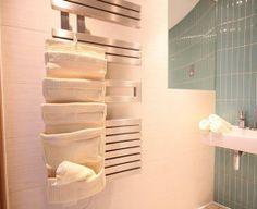 Bathroom Towel Heater, London Apartment, Hand Held Shower, Luxury Apartments, Camden, Hair Dryer, Separate, Towels, Sink