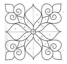 Ornaments, charts and images for applications. : Ornaments, charts and images for applications. Ornaments, charts and images for applications. Stencil Patterns, Applique Patterns, Tile Patterns, Pattern Art, Tile Art, Mosaic Art, Mandala Design, Mandala Art, Ornament Drawing