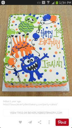Monster sheet cake